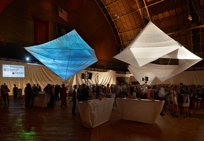Beaux Arts Ball at the 69th Regiment Armory.  Photograph by John Muggenborg
