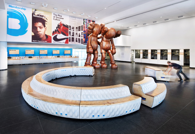 Brooklyn Museum: Visitor Experience, 2015. Photograph by John Muggenborg