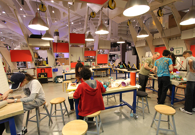 Maker Space, New York Hall of Science, 2012