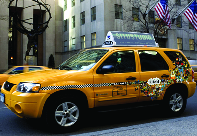 Proposal: Hybrid Taxi Graphics.  Rendering.